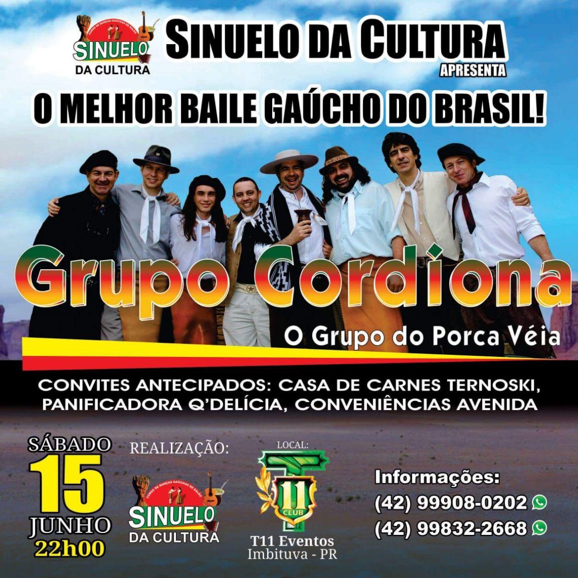 O melhor baile gaúcho do Brasil - com Grupo Cordiona!